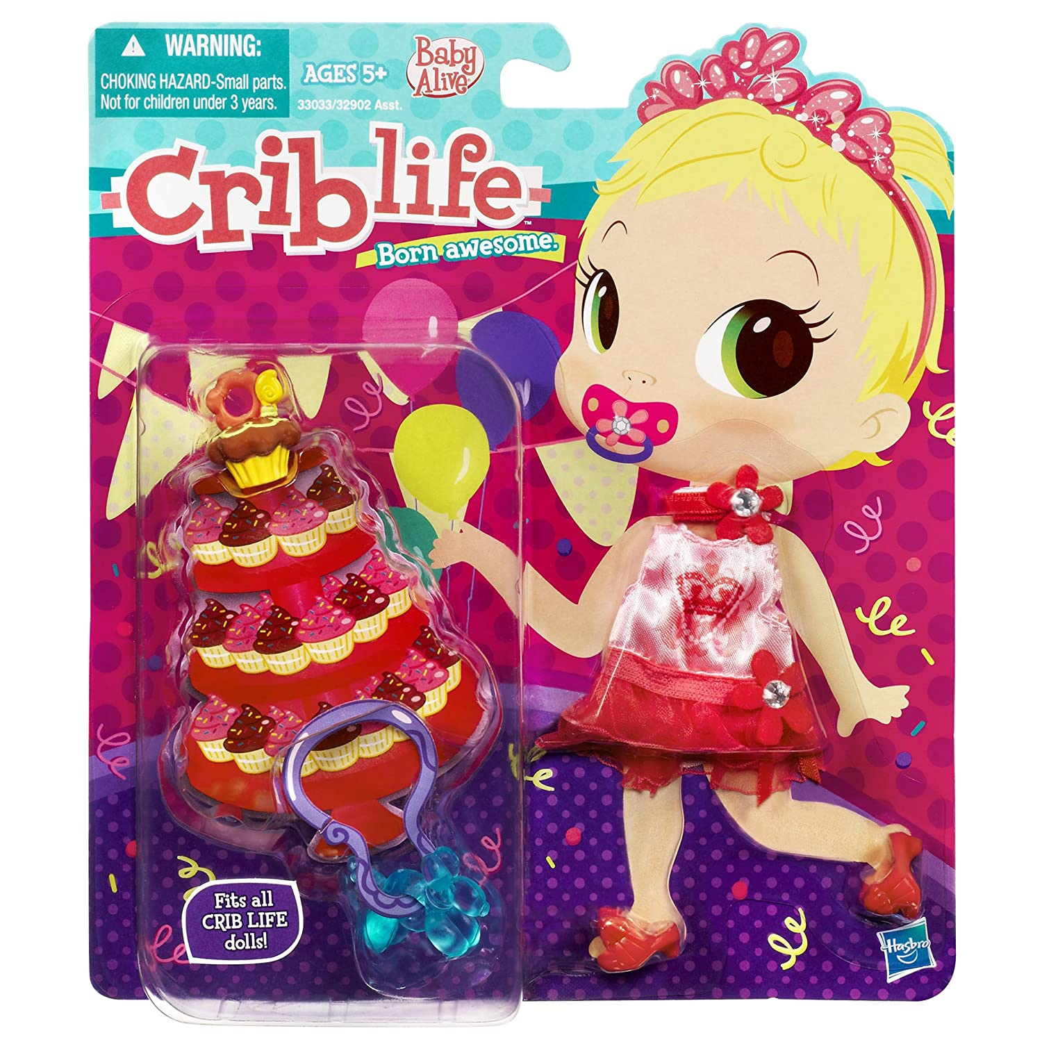 Uncategorized Criblife amazon com baby alive crib life outfit birthday party fashion toys games