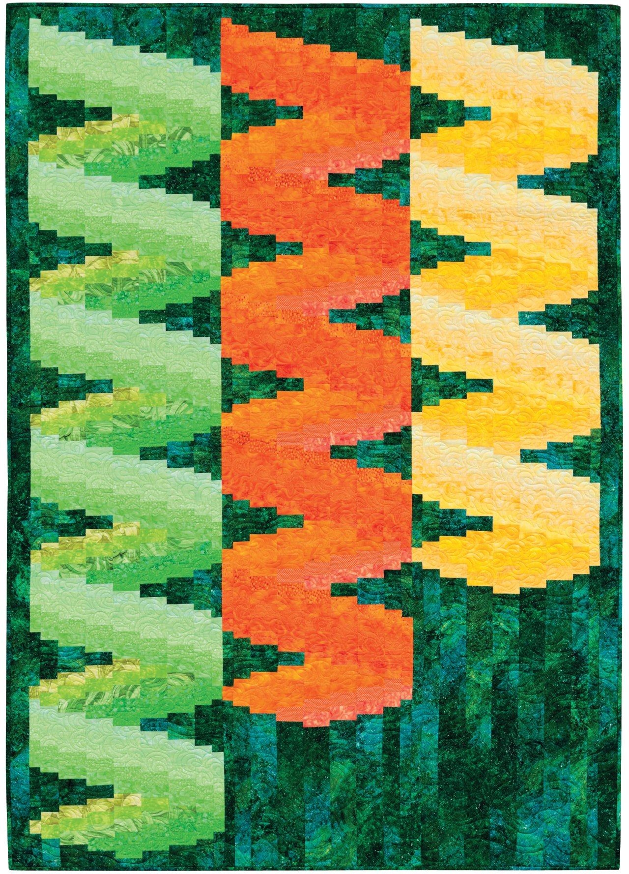 Twisted Bargello Quilt Pattern Free Awesome Inspiration Ideas