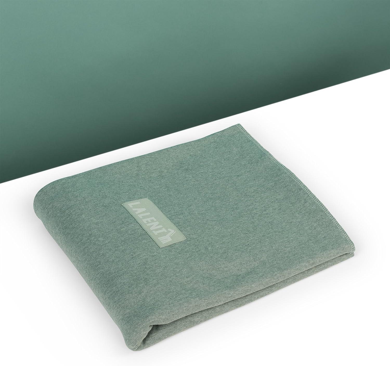 sin Elastano Artificial Color Verde Fular Portabebes de Algod/ón Ecol/ógico para Reci/én Nacidos hasta beb/és de 15KG Fabricaci/ón Europea Transpirable