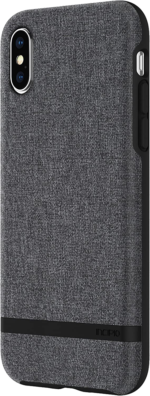 Incipio IPH-1631-GRY Apple iPhone X Esquire Series Case - Gray
