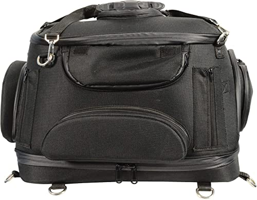 Milwaukee-Performance-MP8103-Black-Heavy-Duty-Textile-Motorcycle-Pet-Carrier