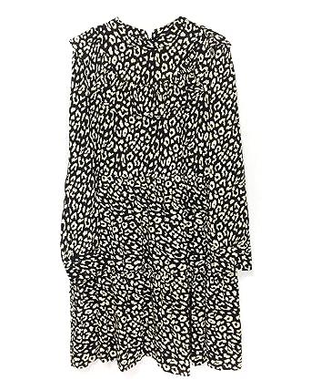 33923e96 Zara Women Dress with Ruffles 2183/243 Black at Amazon Women's ...