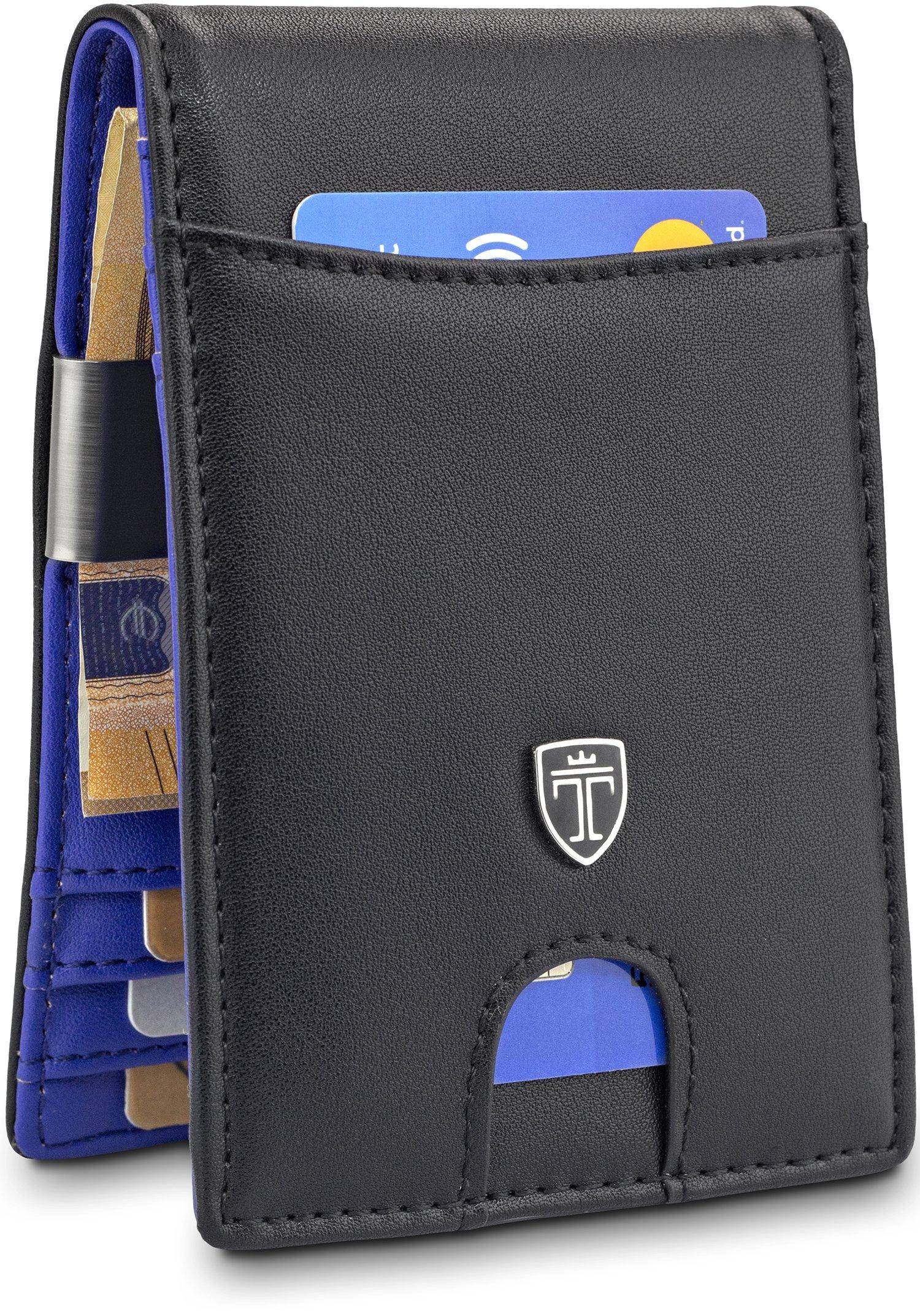TRAVANDO Money Clip Wallet''RIO'' Mens Wallet Front Pocket Wallet Slim Wallet RFID Blocking | Credit Card Holder | Minimalist Mini Bifold Gifts for Men by Travando