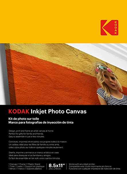 Amazon.com : KODAK Inkjet Photo Canvas : Office Products