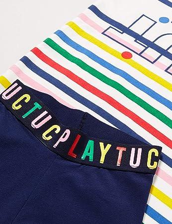 Tuc Tuc Conjunto Camiseta Rayas Y Legging Pirata NIÑA Azul Player