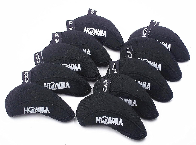 10pcs/set honma-iii fundas para cabezas de palos de golf ...