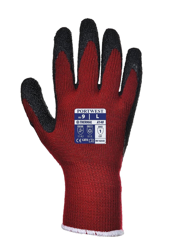 Portwest Gants thermiques avec grip travail Construction d'entretien de travail de sécurité - Homme