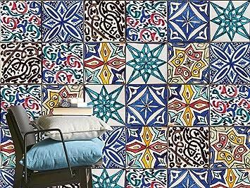 Adesivi murali in pvc auto-adesivo | Mosaico Piastrelle stickers ...