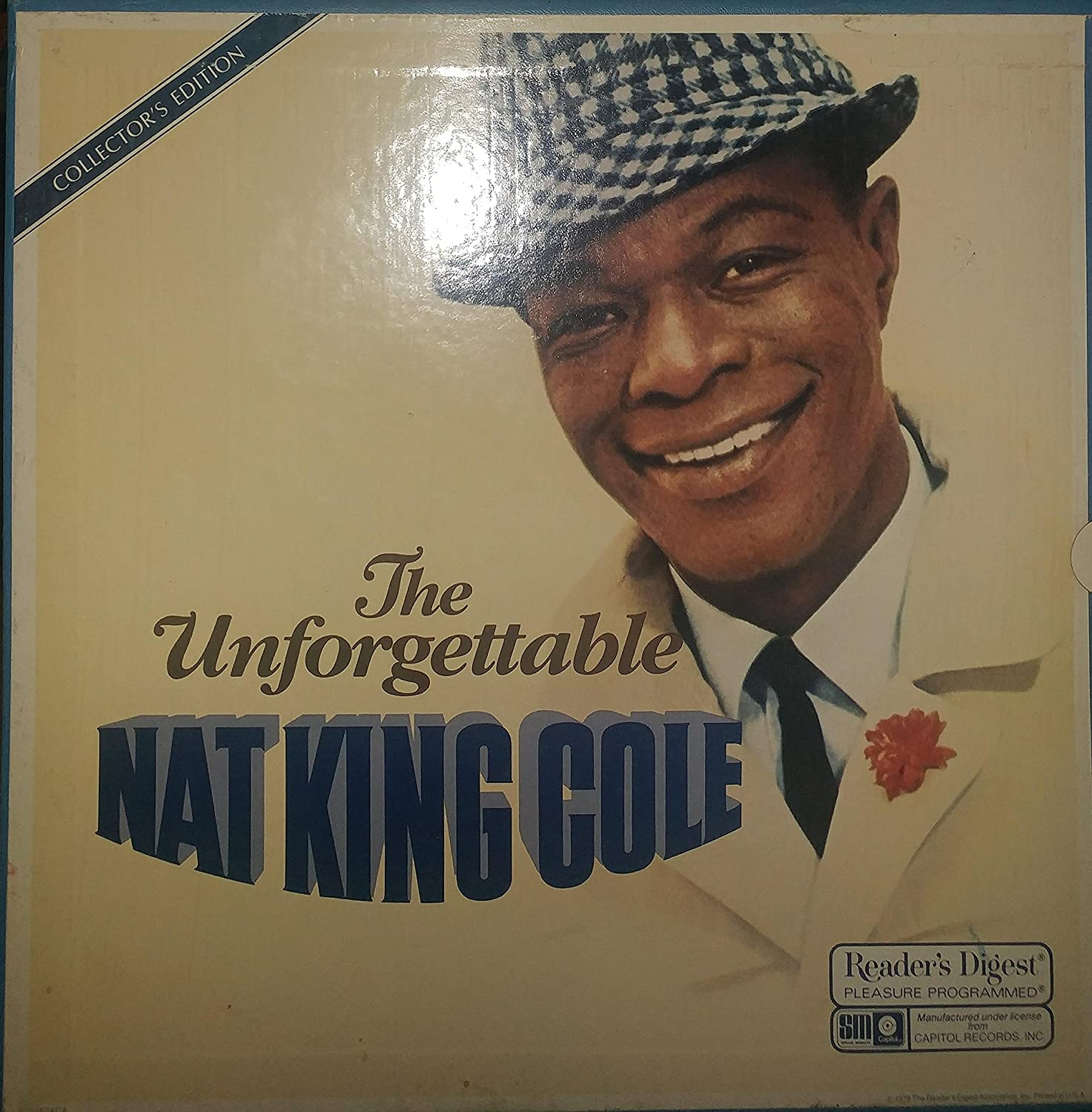 Nat King Cole The Unforgettable Nat King Cole Readers Digest 8 Record Collectors Edition Amazon Com Music