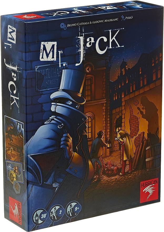 Asmodée - Mr. Jack: Cathala, Bruno, Maublanc, Ludovic: Amazon.es ...