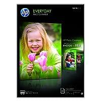 HP - Q2510A - Everyday Photo Paper  Papier Brillant A4 (210 x 297 mm) 200 g/m2 100 pc  [Ancien Modèle]