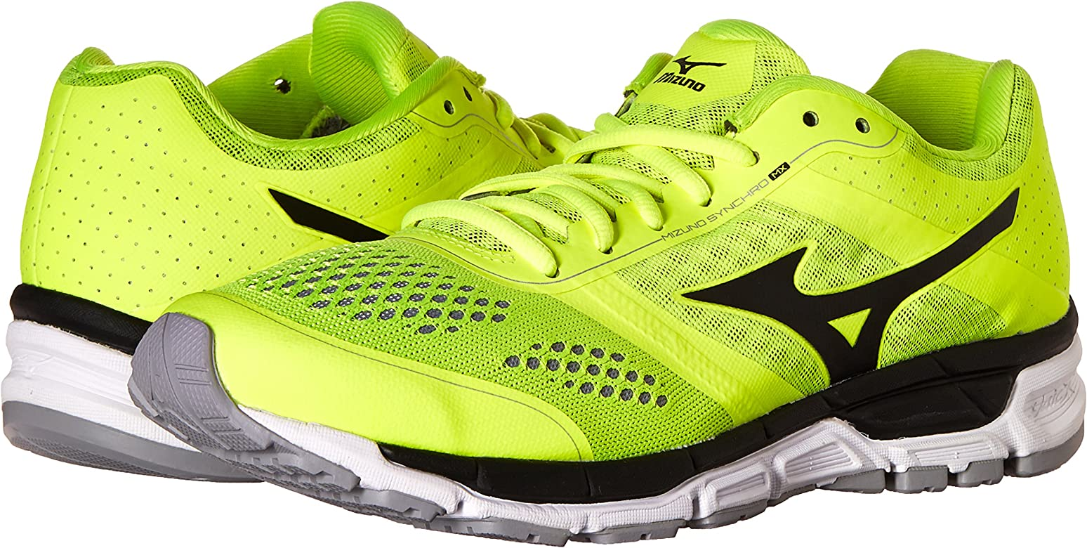Mizuno Synchro MX Tenis para Correr para Hombre, Multi (Amarillo/Negro), 45.5 EU: Amazon.es: Zapatos y complementos