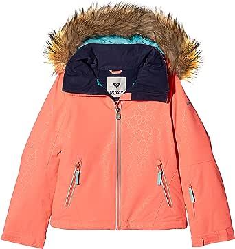 Roxy Jet Ski Solid Girl Jk Chaqueta para Nieve Niñas