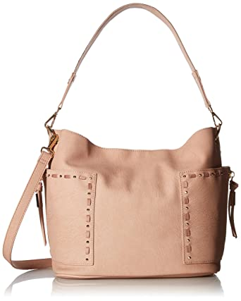51b0dfcc524 Steve Madden Bkailyn, Blush: Handbags: Amazon.com