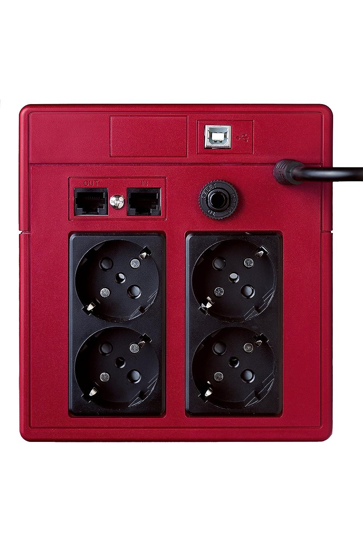 6000W 2xSchuko 2xRJ11 USB Salicru SPS one 1100VA