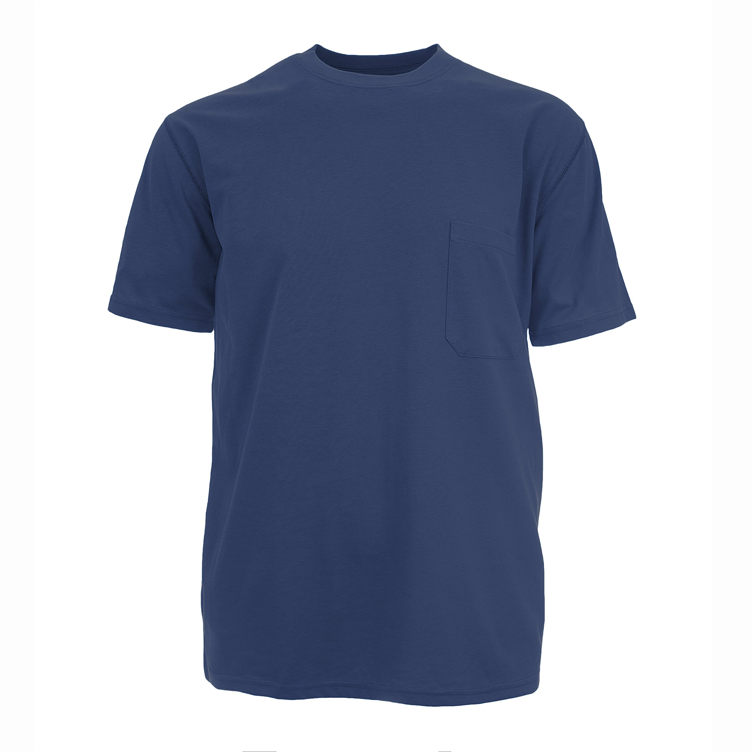 Insect Shield Men's UPF Dri-Balance Short Sleeve Pocket Tee, Navy, X-Large by Insect Shield