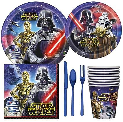 Amazon.com: bashbox Star Wars Classic Fiesta de cumpleaños ...