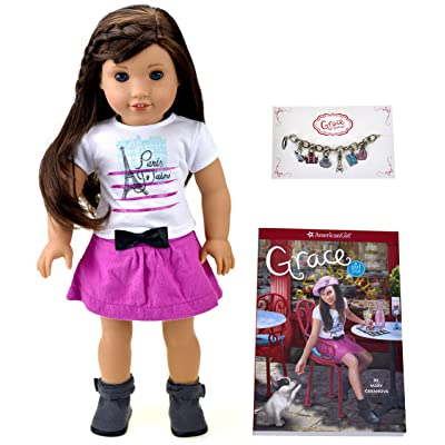 American Girl Grace - Grace Doll and Paperback Book - American Girl of 2015: Toys & Games