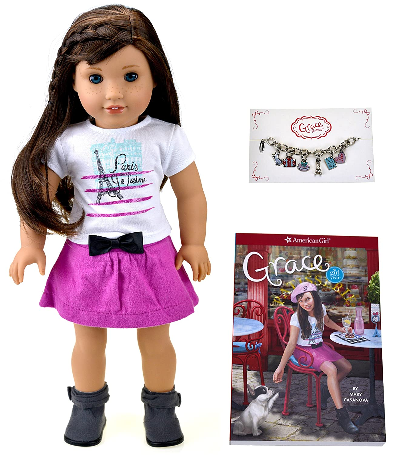 Amazon American Girl Grace Grace Doll and Paperback Book