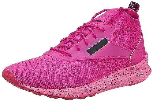 timeless design 6588f fc214 Reebok Women s Zoku Runner Ultk is Solar Magenta Black White Running Shoes  - 5.5
