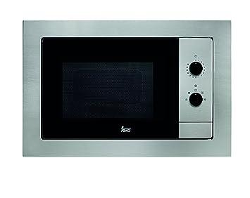 Teka MB 620 BI - Microondas sin grill, 1100 W, color gris