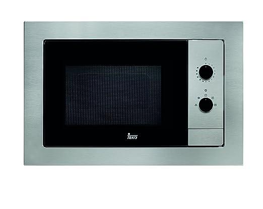 Teka MB 620 BI Microondas sin grill, 1100 W, 20 litros, Otro, Gris
