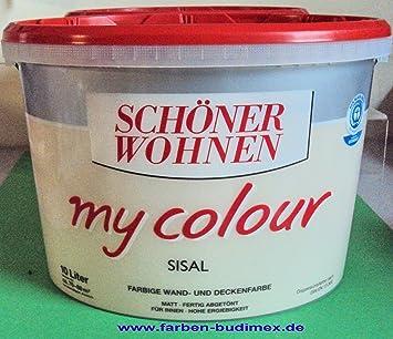 10 L Schöner Wohnen my Color, Wandfarbe, Sisal Matt (2,99EUR/L ...