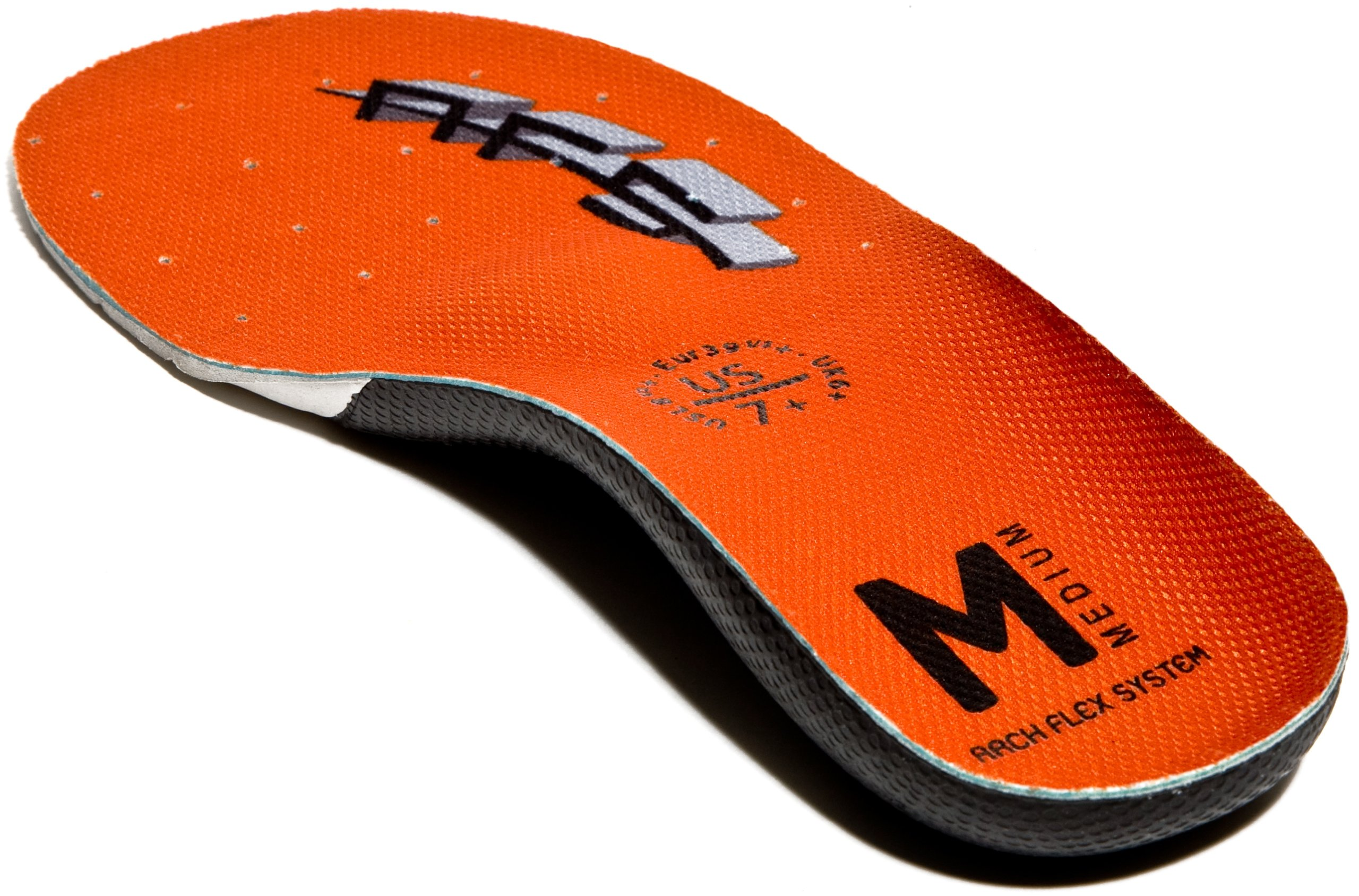 ArchFlexSystem Adult Upgrade Replacement Insole, Medium Orange, 5 by ArchFlexSystem Footbeds