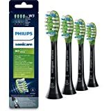 Philips Sonicare Premium White BrushSync Enabled Replacement Heads, 4pk, Black - HX9064/33