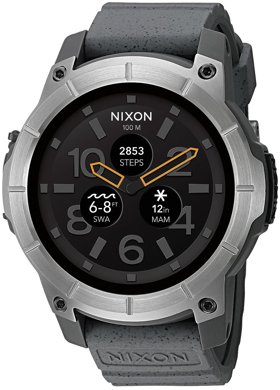 Amazon com: Nixon 'Mission' Smartwatch, Color: Grey (Model
