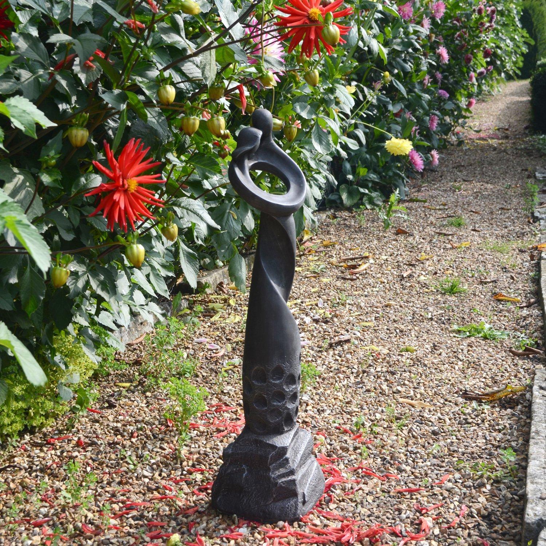 Black Solstice Sculptures Romantic Twist Statue