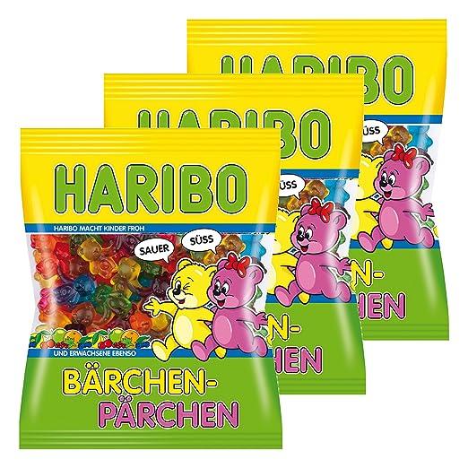 Haribo Pareja de oso., 3 unidades, ositos de goma, vino goma ...