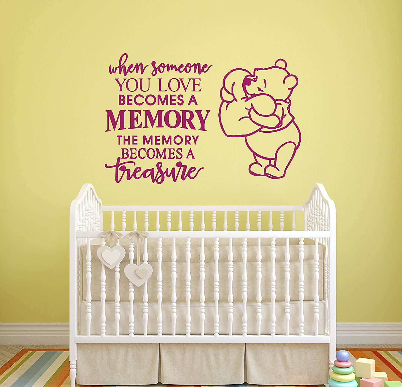 Amazon.com: ManukaDesigns Winnie The Pooh Wall Decal - Inspiring ...