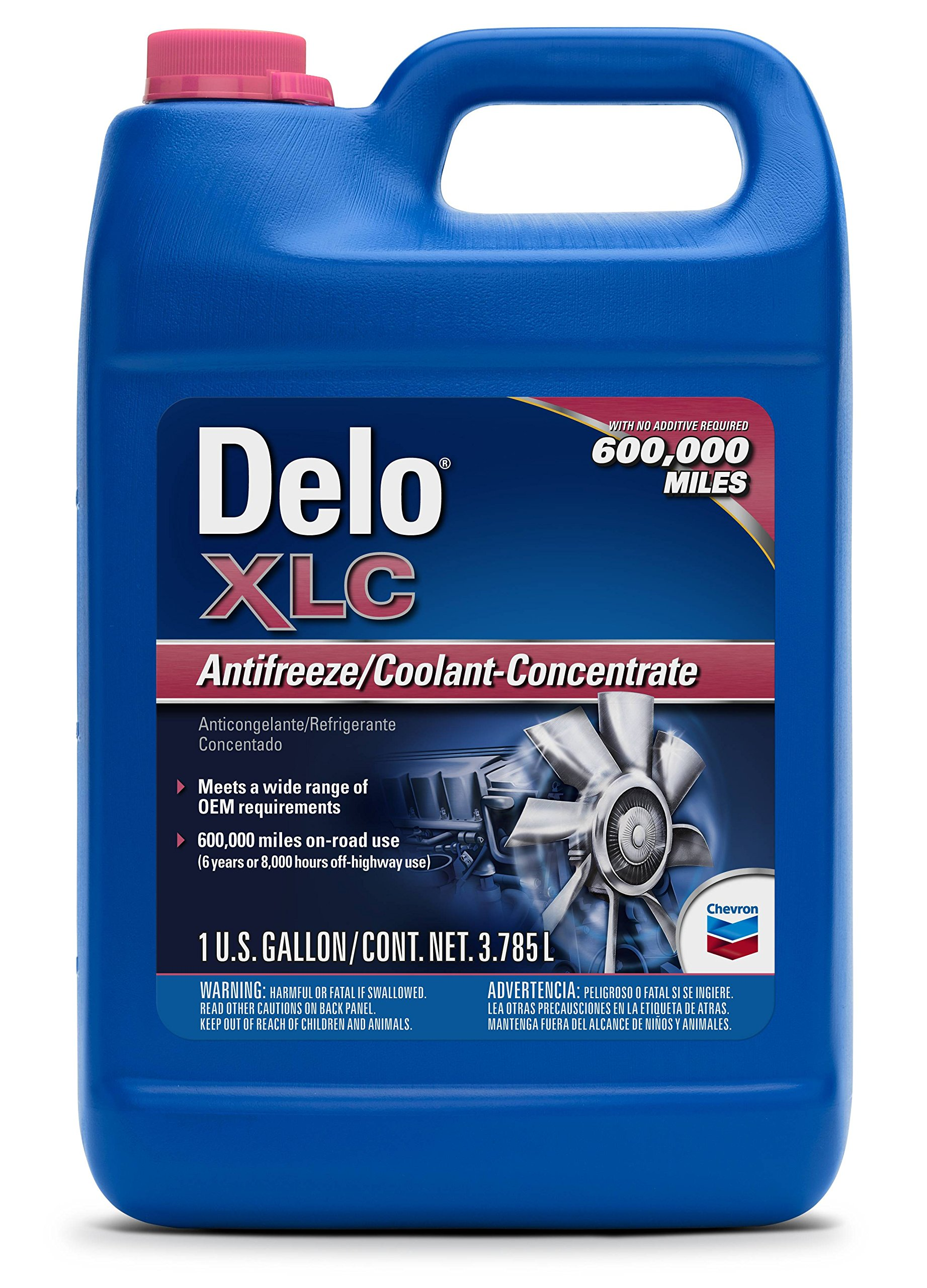 Delo XLC Nitrate Free Antifreeze/Coolant Concentrate 1 Gal. (6 Pack)