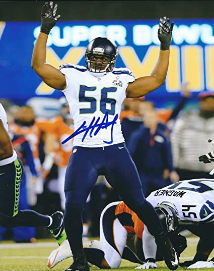 Autographed Cliff Avril 8x10 Seattle Seahawks Photo at Amazon's ...