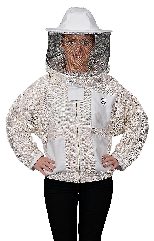 Humble Bee 320-XXXL Atmungsaktive Imkerjacke mit Rundschleier (XXX Large)