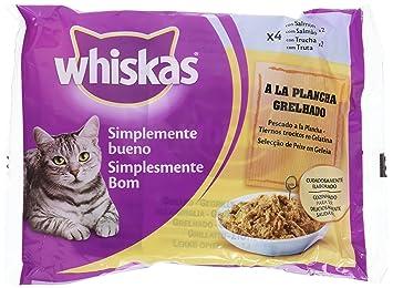 Bolsitas para Gatos Simplemente Bueno Pescado A La Plancha - [Pack de 13]: Amazon.es: Productos para mascotas