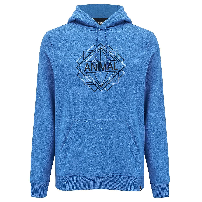 Animal Mens Late Hoodie