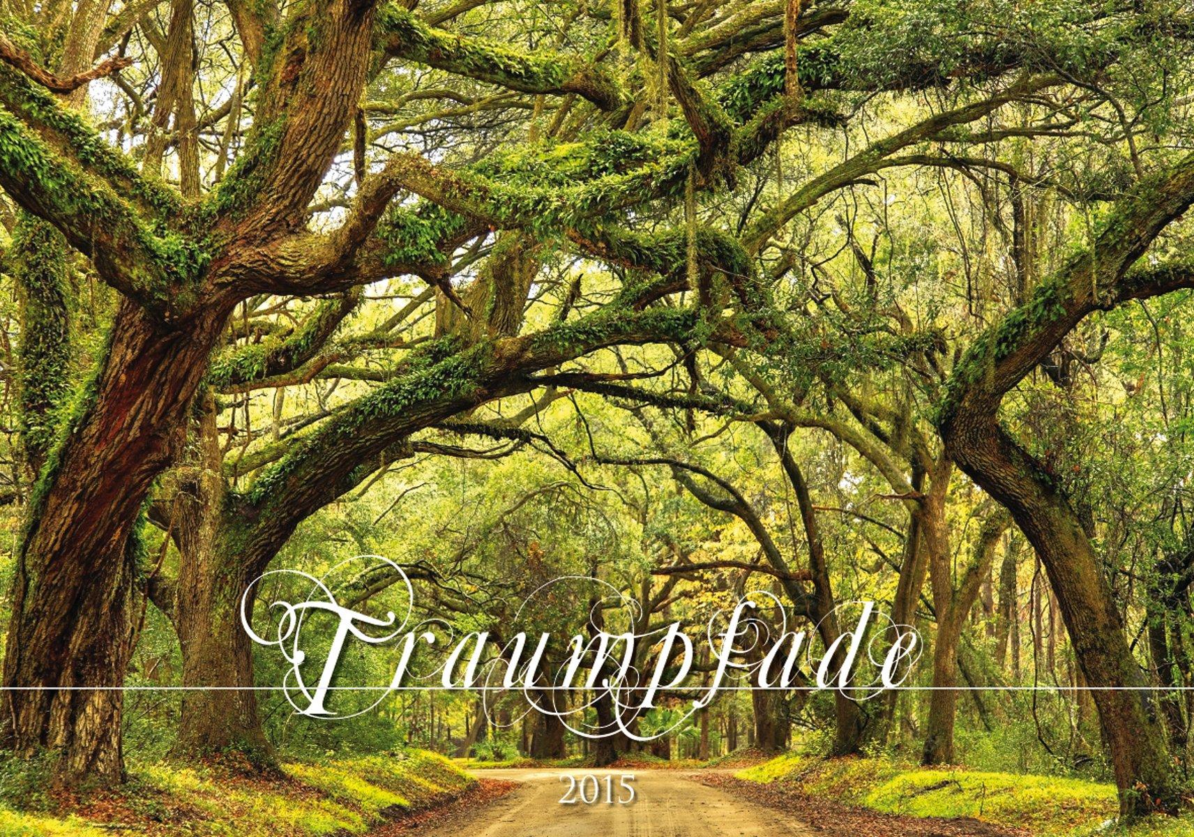 Traumpfade 2015 - Bildkalender quer (49 x 34) - Landschaftskalender