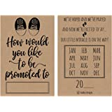 amazon com 25 pregnancy announcement card set we re expecting baby