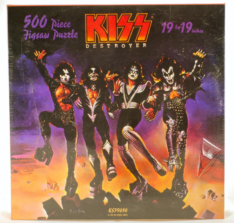 KISS 500 Piece Jigsaw Puzzle 19x19