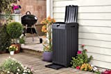 Keter Baltimore 38 Gallon Outdoor Trash Can with