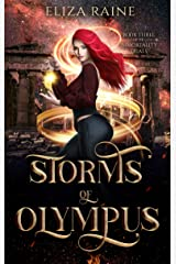Storms of Olympus: A Mythology Fantasy Romance (The Immortality Trials Book 3) Kindle Edition