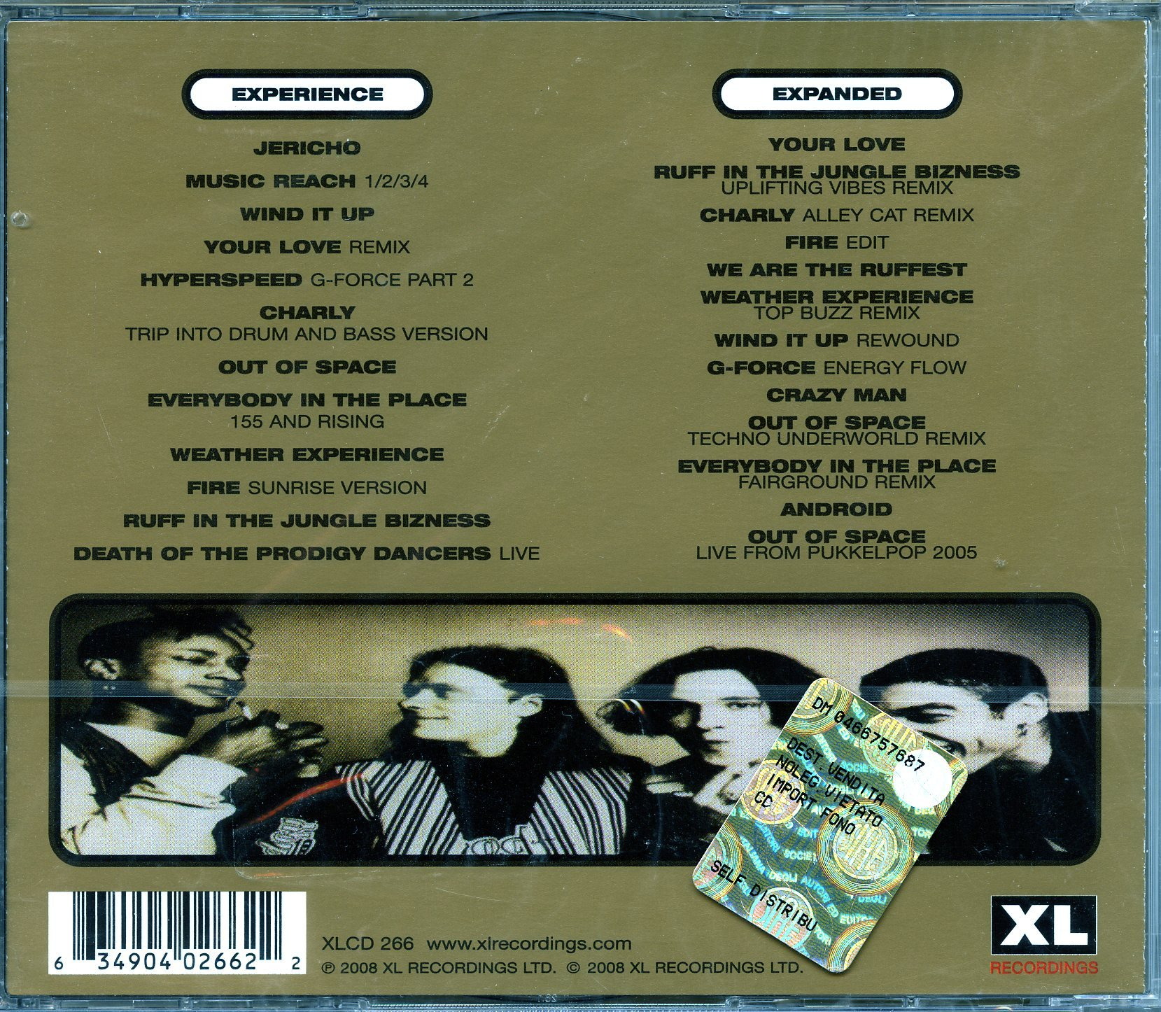 Experience / Expanded by Xl Recordings