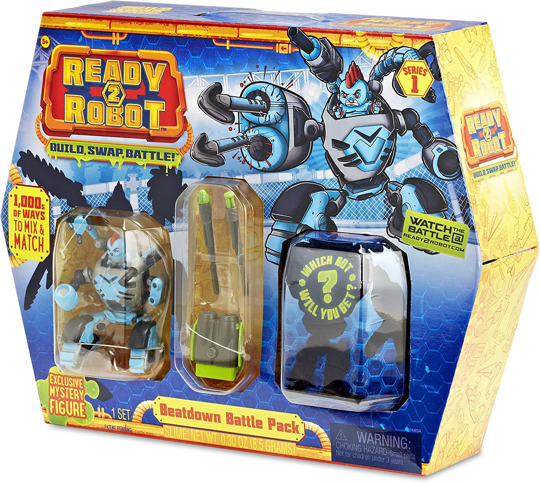 Swap Ready2Robot Build Battle Lot Of 5 Make Slime Mystery Pack..