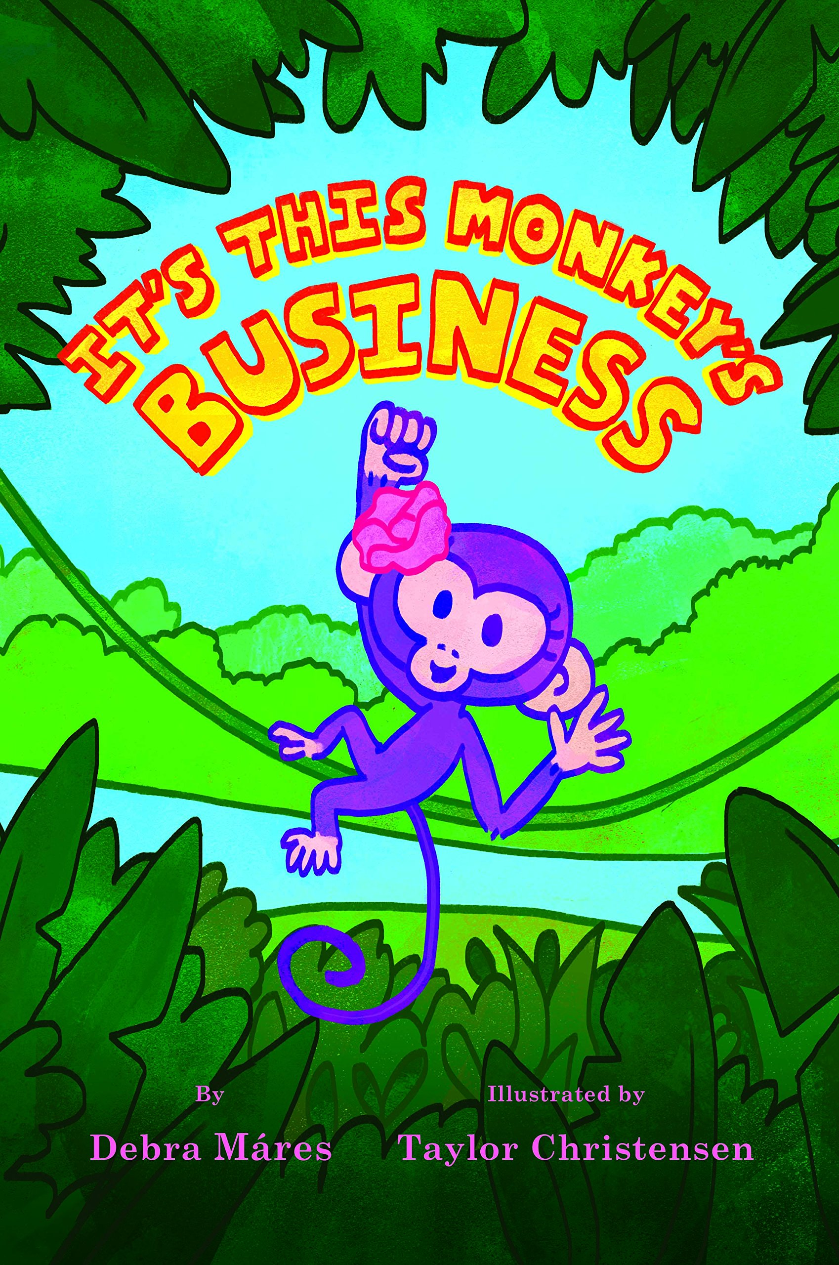 Read Online It's This Monkey's Business pdf