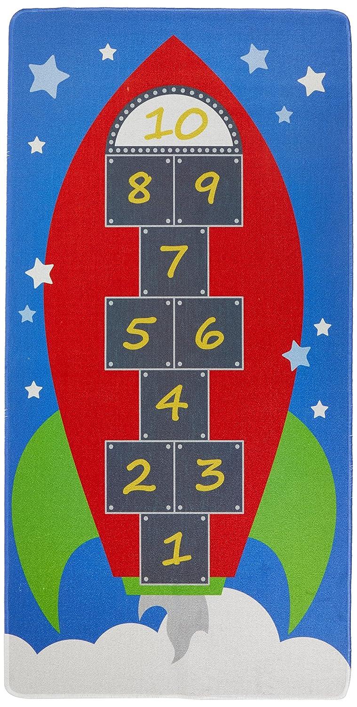House Of Kids 12148-e3Spielmatte Riesen Hop 1Polyester Mehrfarbig 200x 0,5x 100cm 5x 100cm