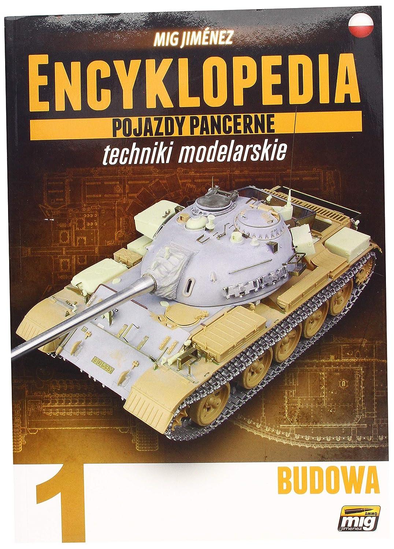 AMMO mig-6200 Enciclopedia di Armour modellizzazione Vol. 1 – costruzione Polish