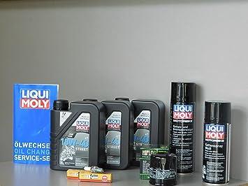 MotorFunSports Kit de mantenimiento Kawasaki Versys X 300 aceite de aceite Bujía Service Inspección: Amazon.es: Coche y moto