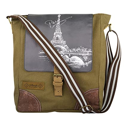11931a0e890d Unisex Messenger Bag Satchel Shoulder Crossbody Sling Working Bookbag Fits  13 Inch Laptop/Ipad for Men and Women